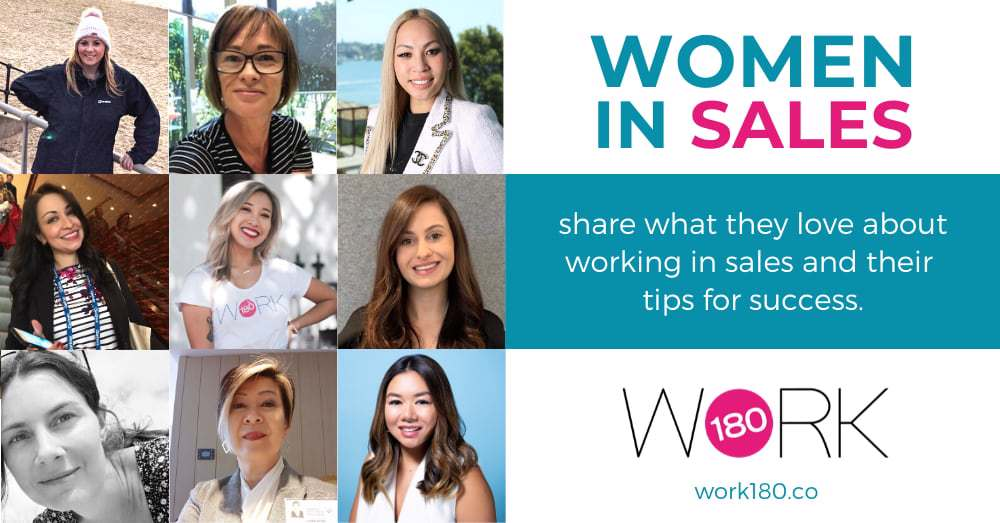 10 women share how to succeed in sales