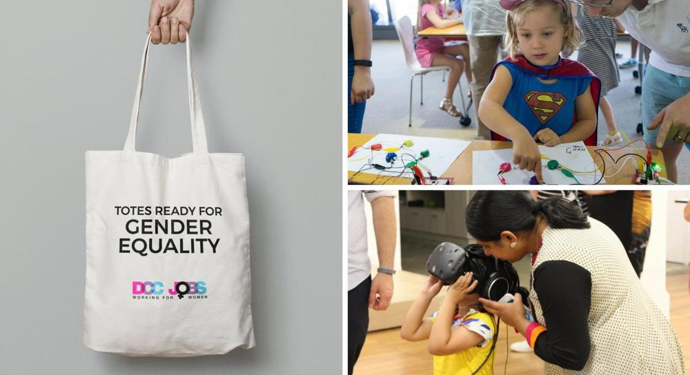 Limited edition totes to support Superhero Daughter Day 2018!