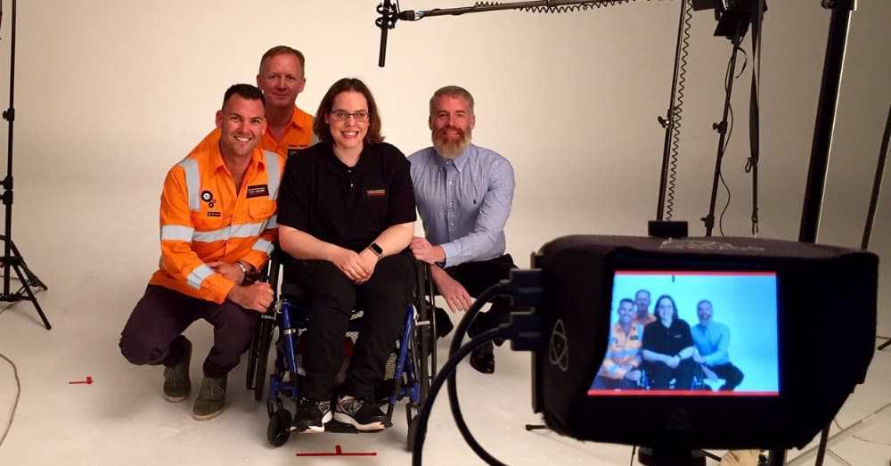 Cerebral Palsy is no barrier for Kathryn and Laing O'Rourke