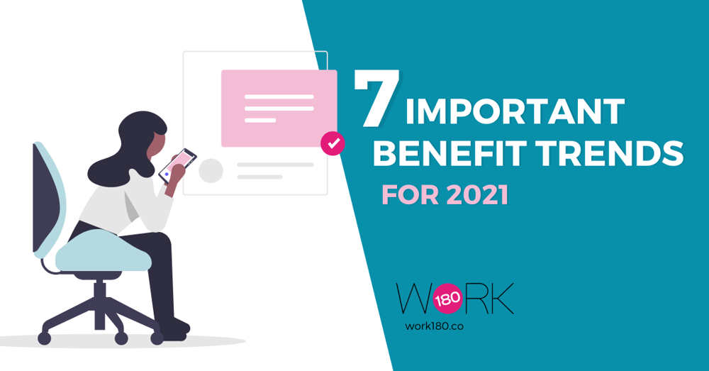 Seven important employee benefit trends for 2021