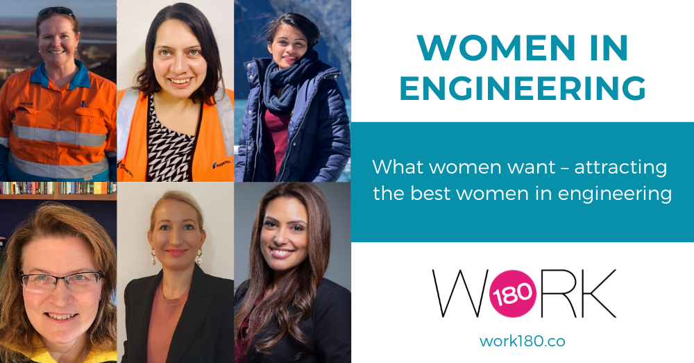 What women want – attracting the best women in engineering
