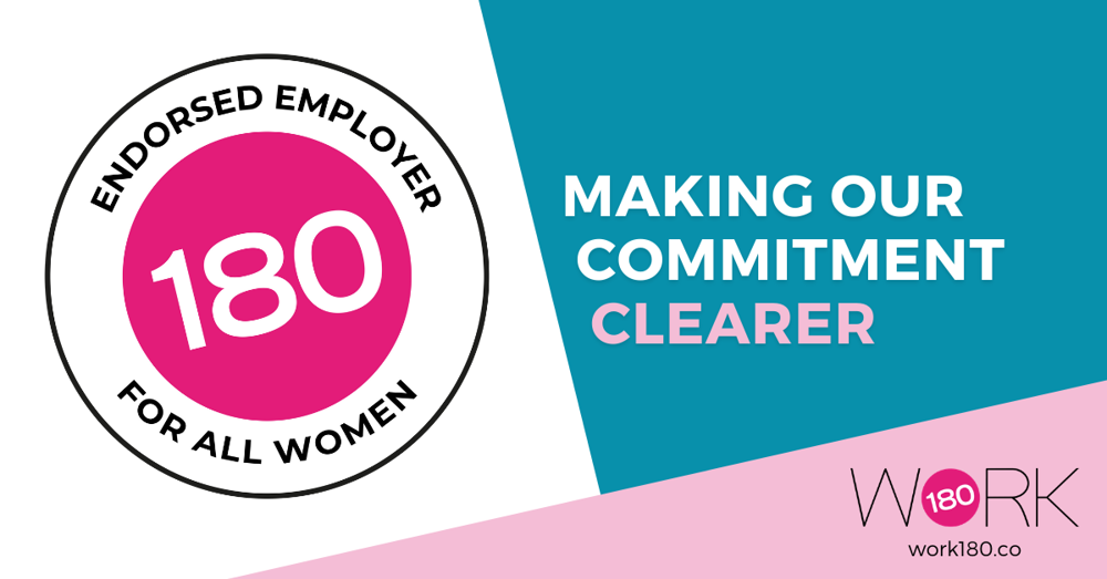 Announcement: We're making our commitment to ALL women even clearer