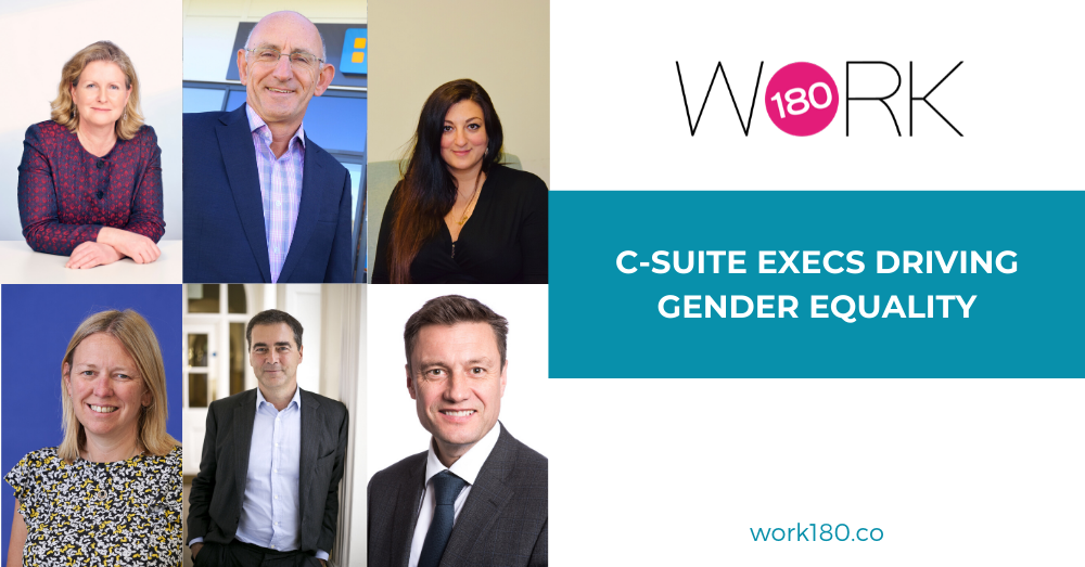 C-Suite Executives Driving Gender Equality