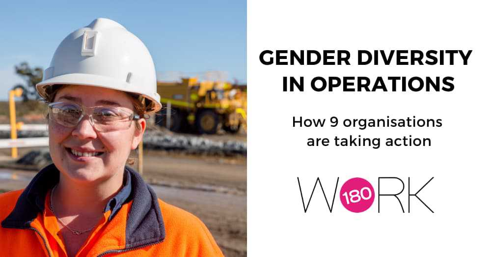 Gender diversity in operations: How 9 organisations are taking action