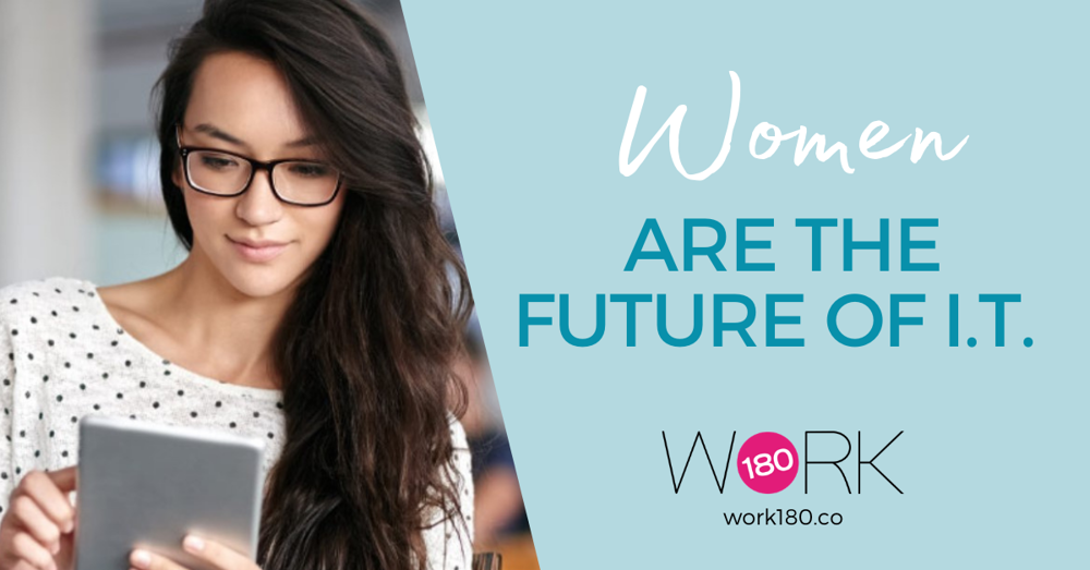 Women are the future of IT