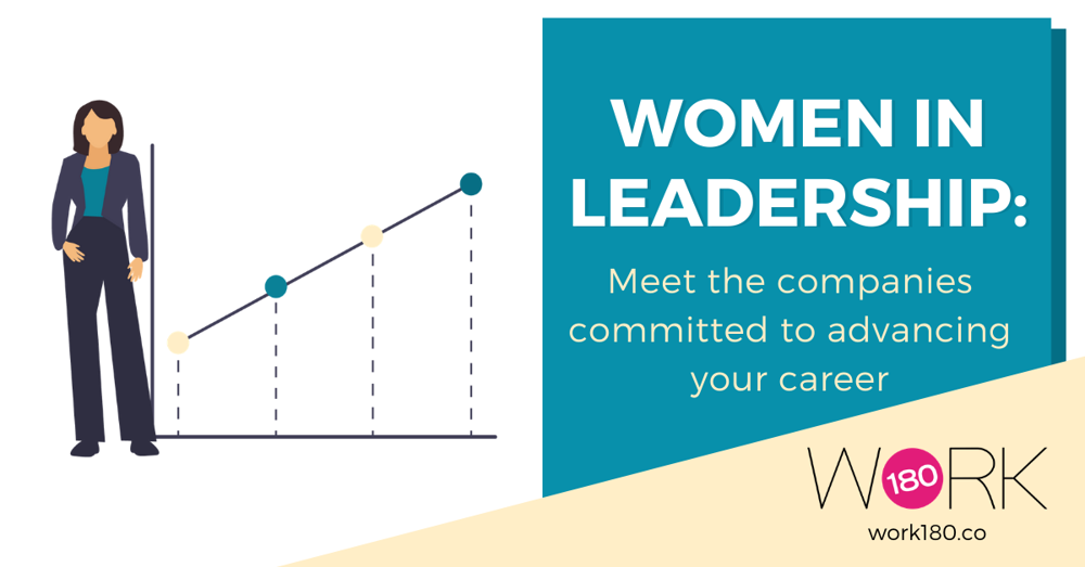 Women in leadership: Meet the companies committed to advancing your career