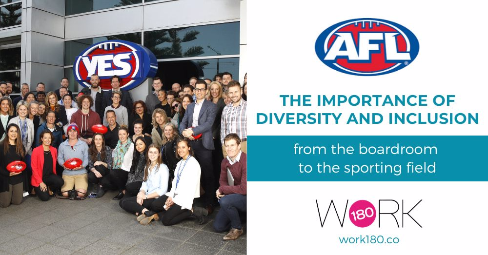 AFL and sponsors discuss the importance of diversity and inclusion