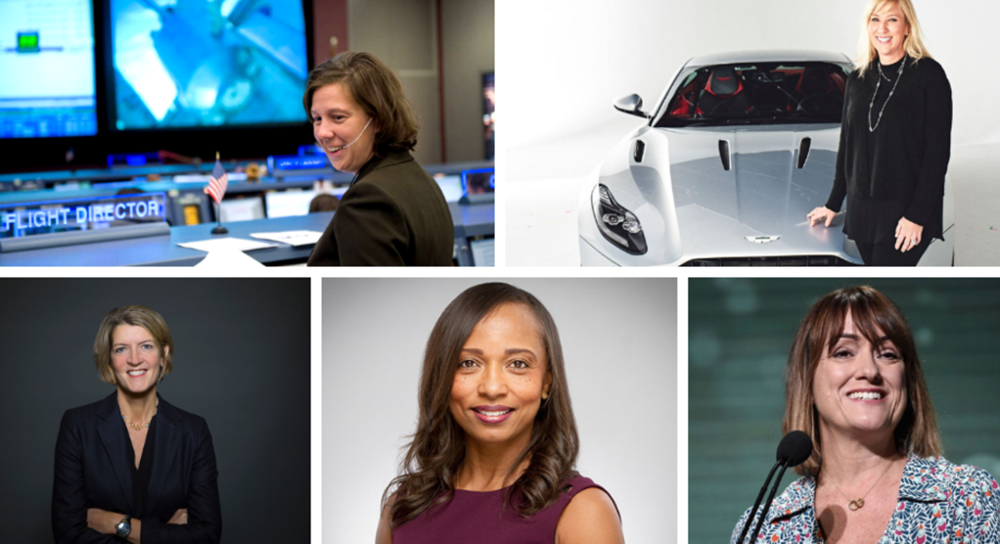 Celebrating women who made it to the top in 2018