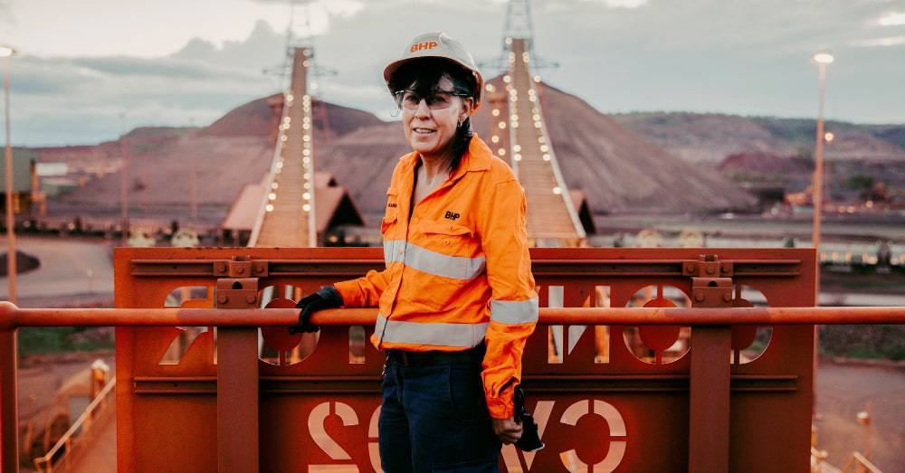 From a playground sandpit to an open pit mine - BHP